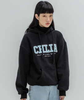 [THE CHLIA] パッチ フーディー / PATCH HOODIE