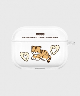 [EARPEARP] タイガージョワ airpods proケース(クリア) / Tiger joie-clear(clear air pods pro)