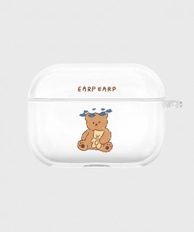 [EARPEARP] ブルーバードメリー airpods proケース(クリア) / Blue bird merry-clear(clear air pods pro)