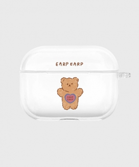 [EARPEARP] ファンシーキッド airpods proケース(クリア) / Fancy kid-clear(clear air pods pro)