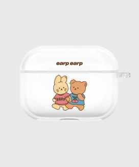 [EARPEARP] ニニフレンズ airpods proケース(クリア) / Nini friends-clear(clear air pods pro)