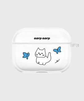 [EARPEARP] オーサムチチ airpods proケース(クリア) / Awesome chichi-clear(clear air pods pro)