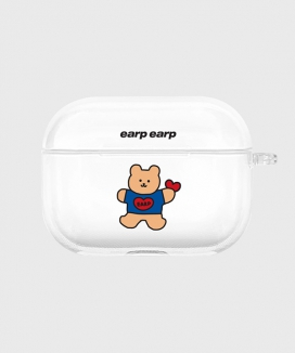 [EARPEARP] コビーハート airpods proケース(クリア) /Covy heart-clear(clear air pods pro)