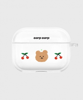 [EARPEARP] チェリーコビー airpods proケース(クリア) / Cherry covy-clear(clear air pods pro)