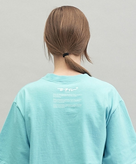 [replaycontainer] リーコンライトコットン ティーシャツ / recon light cotton tee
