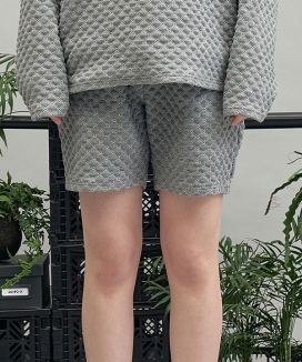 [replaycontainer] ダイヤパターンショートパンツ / dia pattern shorts