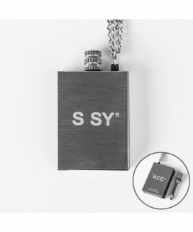[S SY] メタルマッチ チェーンネックレス / METAL MATCH CHAIN NECKLESS