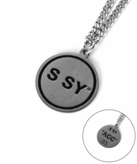 [S SY] SSYペンダントネックレス / SSY PENDANT NECKLACE
