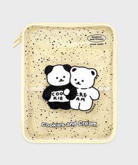 [EARPEARP] クッキークリーム(PVCポーチ)  / COOKIE CREAM(PVC pouch)