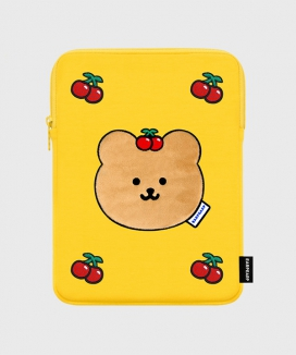 [EARPEARP] チェリーコビー(iPadポーチ) / CHERRY COVY(iPad pouch)