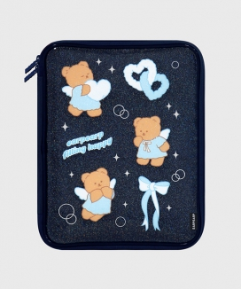 [EARPEARP] フィリングハッピーメリー(PVCポーチ)  / FILLING HAPPY MERRY(PVC pouch)