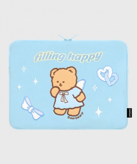 [EARPEARP] フィリングハッピーメリー(13インチ ノートブックポーチ)  / FILLING HAPPY MERRY (13inch notebook pouch)