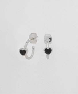 [NONENON] LOVEベンドピアス / LOVE BEND EAR
