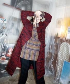 [JORENZ CARTIESS] ブークレオーバーサイズコート / boucle Oversized coat