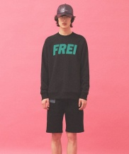 [FREIKNOCK] BIG LOGO SWEAT SHIRT