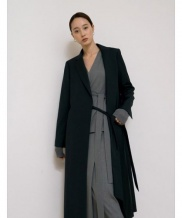 [NOTA] BELTED LONG JACKET
