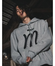 [MUTEMENT] M LOGO FLEECE HOODIE