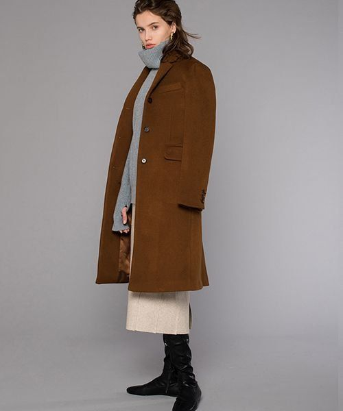 [DIAGONAL] CLASSIC TAILORED COAT