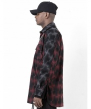 [BLESSED BULLET] HBM5 OVERSIZE CHECK SHIRTS