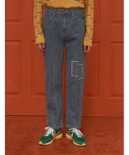 [UNALLOYED] SQUARE JEANS