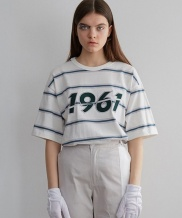 [MAINBOOTH] 1961 Stripe T-shirt