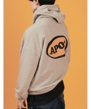 [A PIECE OF CAKE] Oval Logo Hoodie