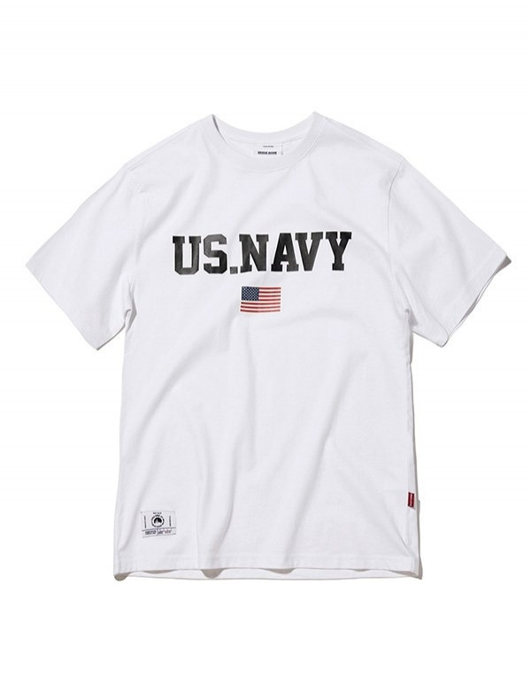 [GROOVERHYME] 2018 US.NAVY RUBBER T-SHIRTS