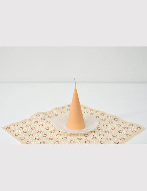 [Honey Flamingo] cone candle