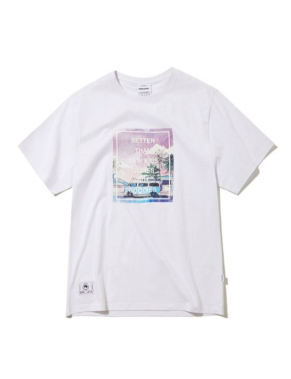 [GROOVERHYME] 2018 SLOGON PHOTO PRINT T-SHIRTS