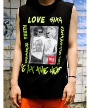 [youthbath] Funk sleeveless