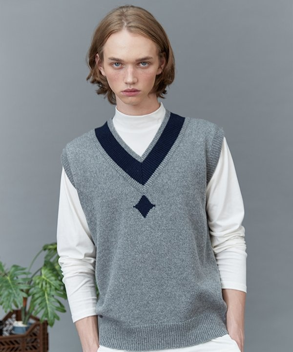 [replaycontainer] RC lambs wool knit vest