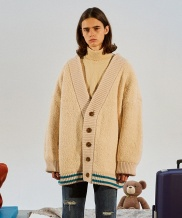 [TRUNK PROJECT] Alpaca Blend Shearing Cardigan Jacket