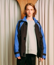 [ANOUTFIT] UNISEX COLOR POINT WIND BREAKER