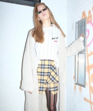 [B ABLE TWO] Oversized Long cardigan