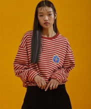 [SEWING BOUNDARIES] MOONRISE BASIC STRIPE LONG SLEEVES