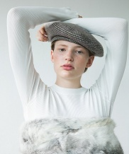 [AWESOME NEEDS] CLASSIC BERET_CHECK