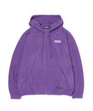 [THIRDWEAVE] FLEECE LOGO ZIP UP HOODIE