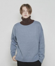 [DRUG WITHOUT SIDE EFFECT] Overfit Turtleneck Knit