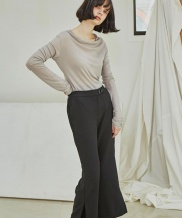 [Sorry, Too Much Love] Classic Side Slit Pant