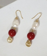 [MIDNIGHT MOMENT] pearl MM earring