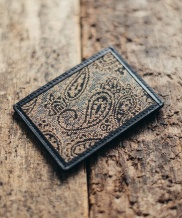 [WILD BRICKS] PAISLEY CARD CASE