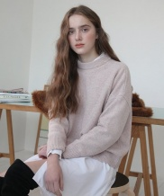[nuissue] SOFT COLOR KNIT