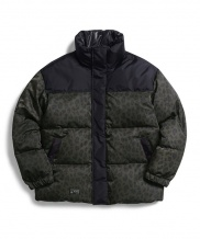 [OVERCAST] Leopard Goose Down Jacket
