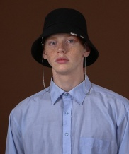 [S SY] 2WAY CHAIN BURKET HAT