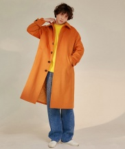 [WUZU STUDIO] WUZU OVER LONG SINGLE COAT