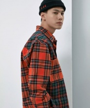 [ATTENTIONROW] 4:44 goodtime flannel shirt