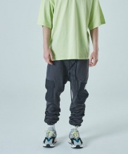 [ATTENTIONROW] cargo pocket string beggy long pants