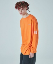 [ATTENTIONROW] logo reflective long sleeve