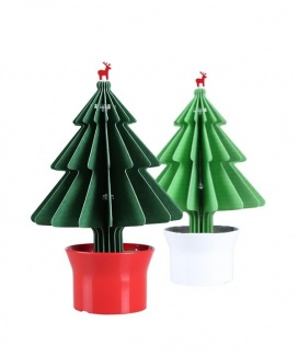 [HEALINGPOT] Healing gear tree felt humidifier (dark green)