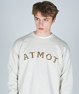 [AT THE MOMENT] ATMOT Applique Sweatshirt